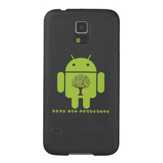 Grow The Ecosystem (Bug Droid Brown Tree) Galaxy S5 Case