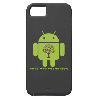 Grow The Ecosystem (Bug Droid Brown Tree) iPhone SE/5/5s Case