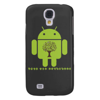 Grow The Ecosystem (Bug Droid Brown Tree) Samsung Galaxy S4 Cover