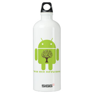 Grow The Ecosystem (Bug Droid Brown Tree) SIGG Traveler 1.0L Water Bottle