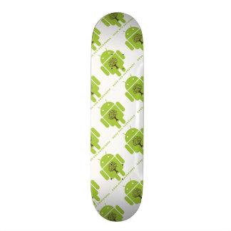 Grow The Ecosystem (Bug Droid Brown Tree) Skateboard Deck