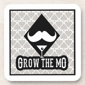 Grow The Mo - Coaster Set - Diamonds Edition