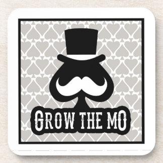 Grow The Mo - Coaster Set - Spades Edition