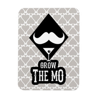 Grow The Mo - Magnet - Diamonds Edition