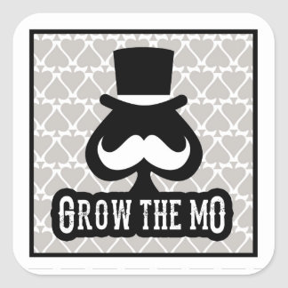 Grow The Mo - Stickers - Spades Edition