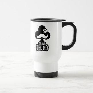 Grow The Mo - Travel Mug - Clubs Edition