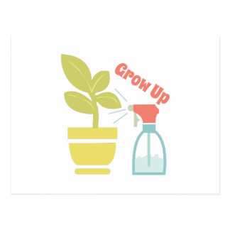 Grow Up Postcard