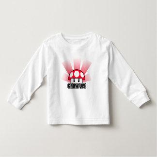 Grow Up Red Mushroom Powerup Toddler T-shirt
