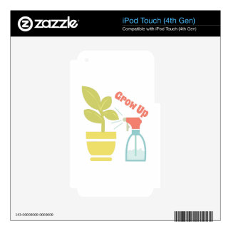 Grow Up Decal For iPod Touch 4G