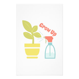 Grow Up Stationery Paper