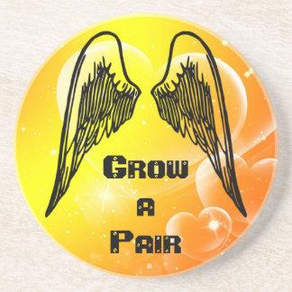 Grow Wings coaster