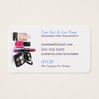 Grow With AVON Business Card