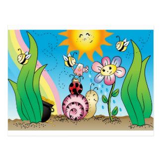Grow with me! Grandit avec moi! #2 Post Card