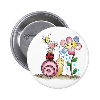 Grow with me! Grandit avec moi! Buttons
