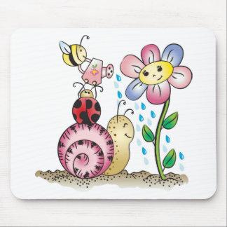 Grow with me! Grandit avec moi! Mousepad