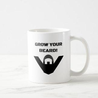 Grow Your Beard! Coffee Mug