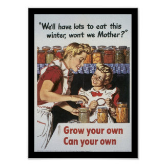 Grow Your Food World War 2 Posters