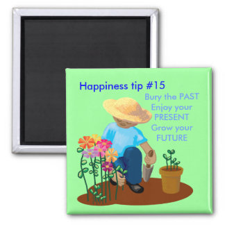 Grow your future 2 inch square magnet