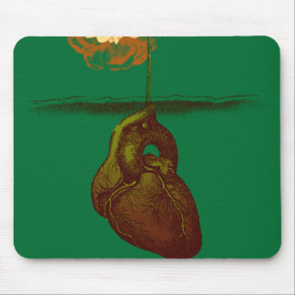 Grow your heart mouse pad