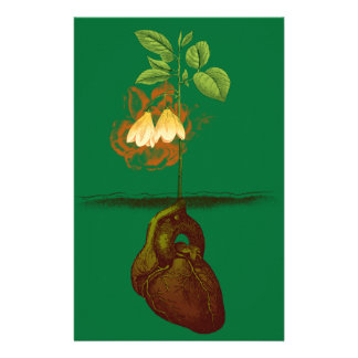 Grow your heart stationery