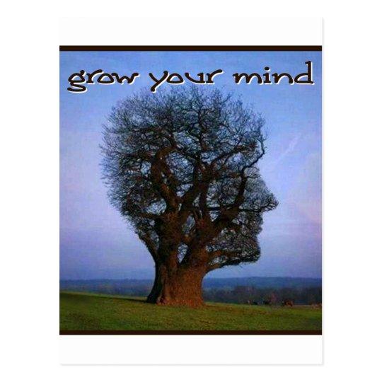 Grow Your Mind Postcard