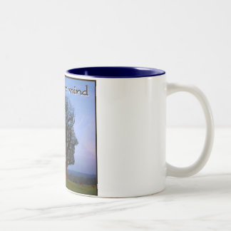 Grow Your Mind Two-Tone Coffee Mug
