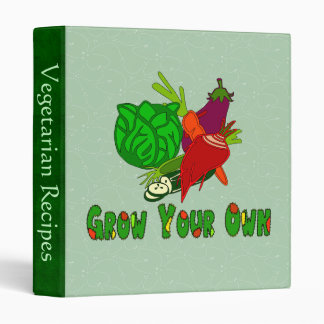 Grow Your Own 3 Ring Binder