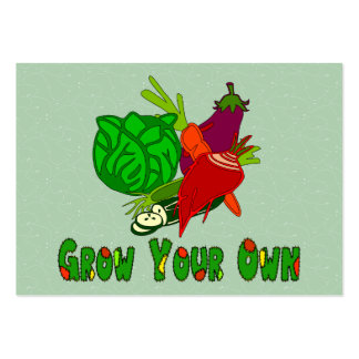 Grow Your Own Large Business Cards (Pack Of 100)