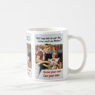 Grow Your Own, Can Your Own Coffee Mug