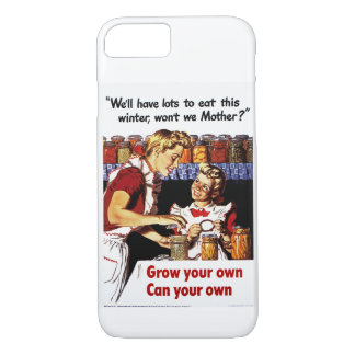 Grow Your Own, Can Your Own iPhone 8/7 Case