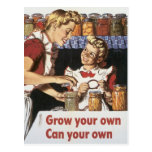 Grow Your Own, Can Your Own Postcard