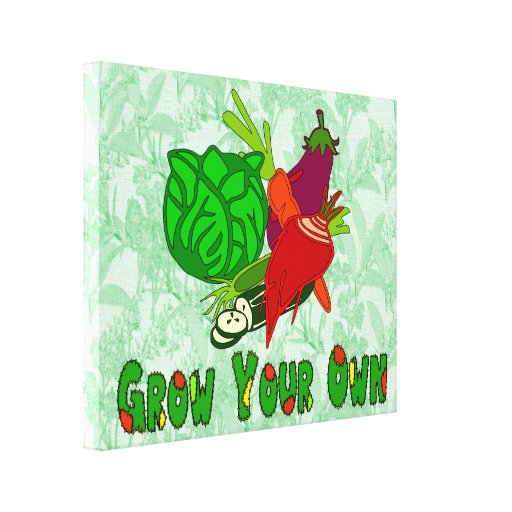 Grow Your Own Gallery Wrap Canvas
