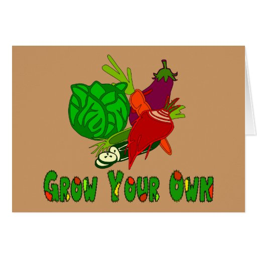 Grow Your Own Card