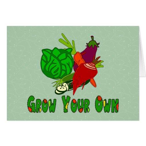 Grow Your Own Cards