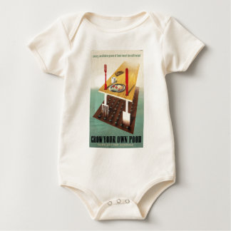Grow Your Own Food Baby Bodysuit