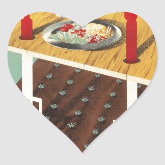 Grow Your Own Food Heart Sticker