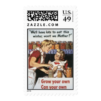 Grow Your Own Food World War 2 Postage