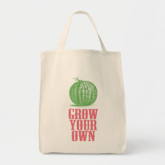 Grow Your Own Grocery Tote Grocery Tote Bag