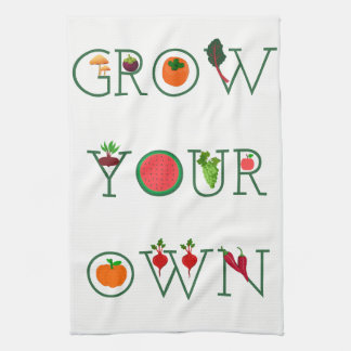 Grow Your Own Hand Towel
