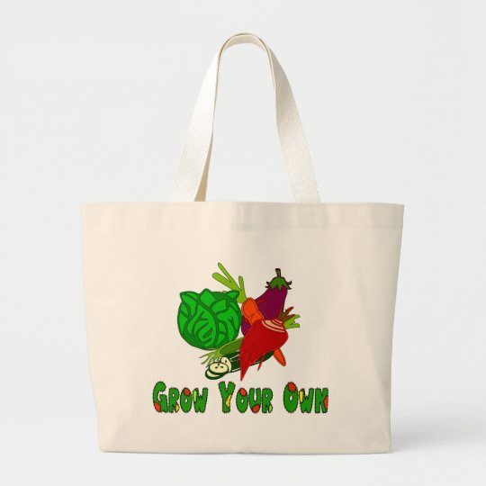 Grow Your Own Large Tote Bag