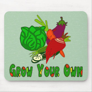 Grow Your Own Mouse Pad