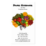 Grow Your Own (on white), business card Pack Of Standard Business Cards