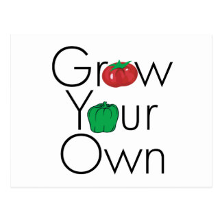 Grow Your Own Postcard