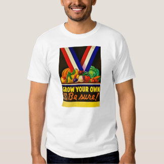 Grow Your Own Vintage Victory Garden WWII T-shirt