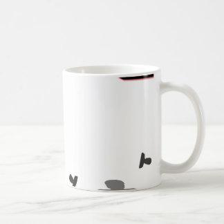 Growing Angry Icon Print Coffee Mug