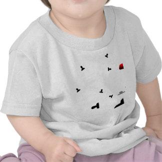 Growing Angry Icon Print Tshirts