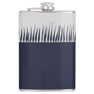 Growing Blue Flask