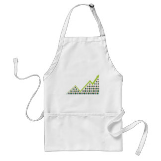Growing Business People Network Adult Apron