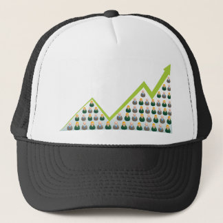 Growing Business People Network Trucker Hat