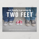 Growing By Two Feet Pregnancy Announcement